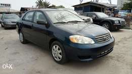 Clean 2002 Toks Toyota Corolla CE With Auto drive fabric Ice Cold AC.