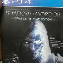 Shadow of Mordor ps4 used