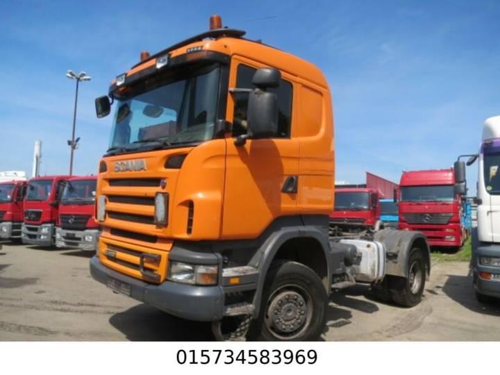 Scania R 420 4x4 Kipphydr. HP-Achsen, Schaltgetriebe - 2007