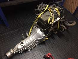 Mitsubishi L300 engine and gearbox