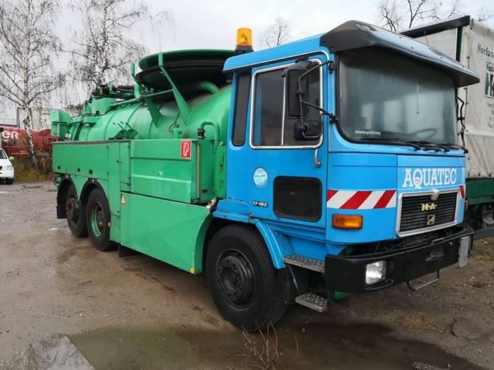 MAN 16.192 FL/BL Kanalreiniger Spühlfahrzeug - 1989