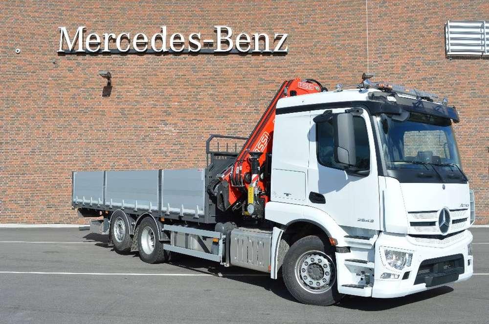 Mercedes-Benz Actros 2543 L 6x2*4 4600 - 2018