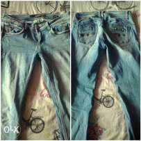 Sissy boy jeans size 12 but will fit a size 10