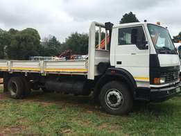 Tata 1518 with dropside body