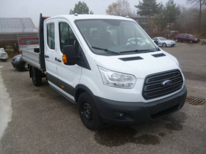 Ford Transit 350L3 Doka Pritsche Front Euro 6 - 2018