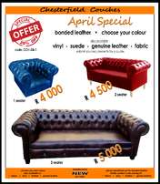 NEW Chesterfield Couches_from R4000