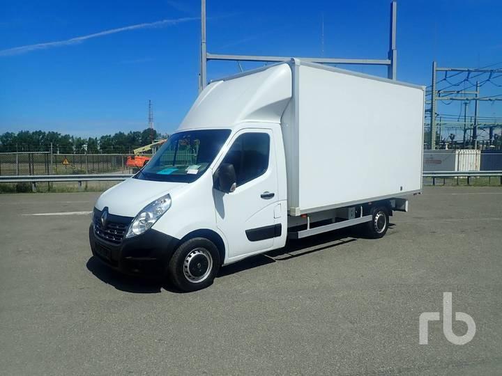 Renault MASTER 4x2 Van Truck - 2017