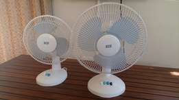 Pair of fans