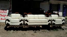 5 seater leather couches