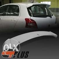 RS Style,rear spoiler: For Toyota Vitz/Yaris: New shape: 9500
