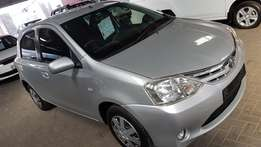**2013 Toyota Etios 1.5XS/Sprint** 69500km** Clean HAtch*