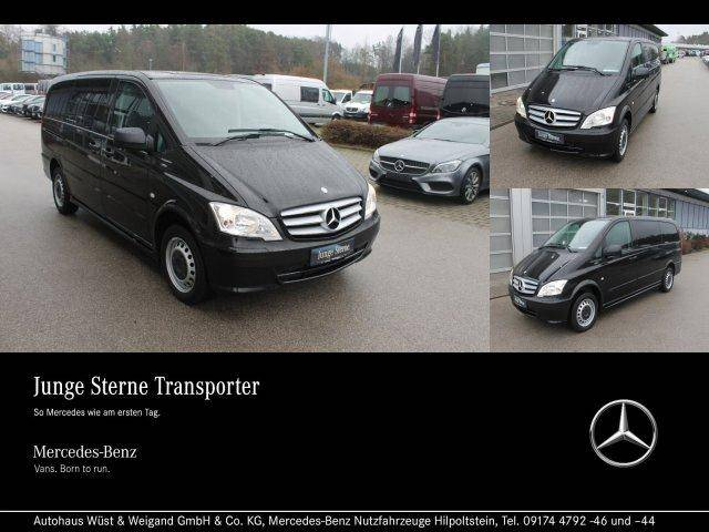 Mercedes-Benz Vito 113 CDI Kombi+7 Sitze+AHK+Klima+Automatik - 2014