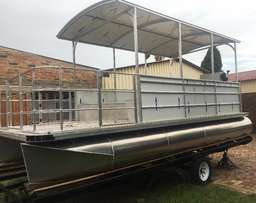 Pontoon boat new (priced to go fast)