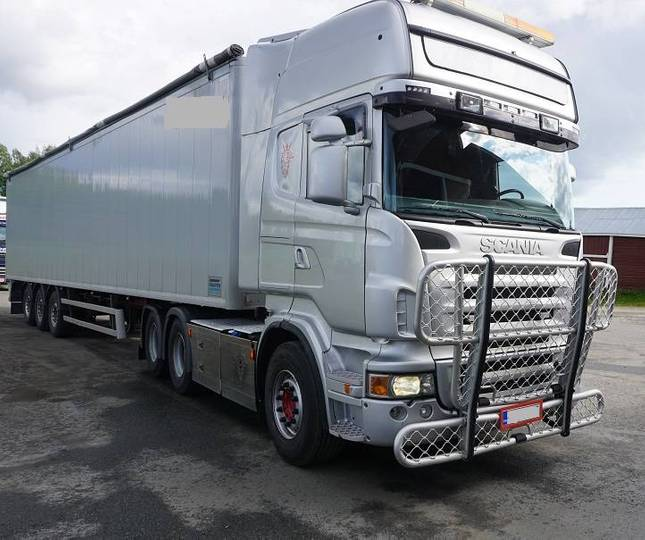 Scania R620 6x4 + Knapen 200 - 2009
