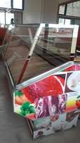 Meat display canter