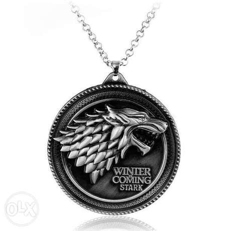 Game of Thrones Medallion - Necklace