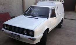 VW Caddy Bakkie with Canopy and roof rack