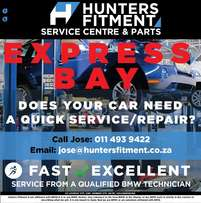 Hunters Fitment EXPRESS Bay Service