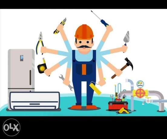 We do electric, plumbing ac and gass lines maintenance services