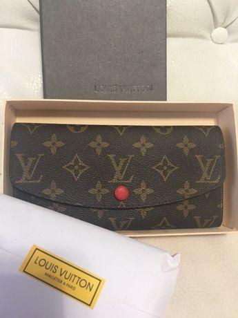 Красивый модный кожаный кошелёк Louis Vuitton(Луи Виттон) подарок Харьков -  изображение 1 90c9a95855d