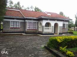 Spacious fully furnished 4Bedroom House for Rent Nakuru Ngata