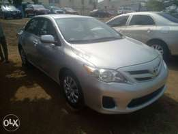 Almost new 2012 Tokunbo Toyota corolla