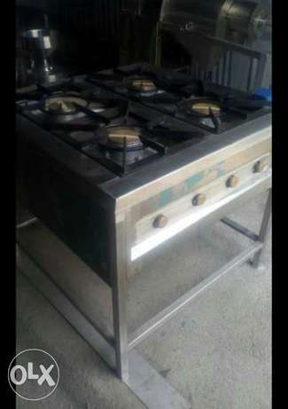 Stainlesss steel gas cooker four Barner commercial Kamukunji - image 1