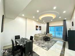 Sea views! Modern 1 bed apartment with balcony + Electricity