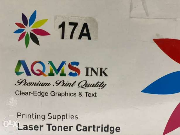 AQMS 17A Black LaserJet Toner Cartridge CF217A