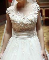 0b57182a9846a5 Весільна сукня ексклюзивного дизайну від Оксани Мухи