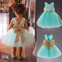 Affordable Gown for one year baby girls