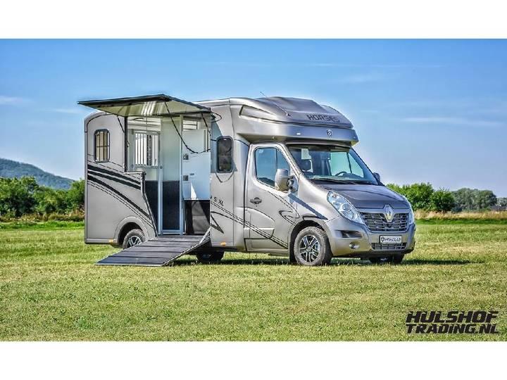 Paragan Excelsion 5 XL dubbel cabine 3-slaapplaatsen 2-paards! - 2019