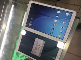 2 Samsung tab E(one with simcard slot at 500klast) on sale. at 470k
