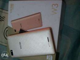 TECNO W3 which is 3 weeks old on sale at a very low price. It has no d