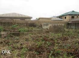Plot of land close to delsu campus 3 abraka for sale