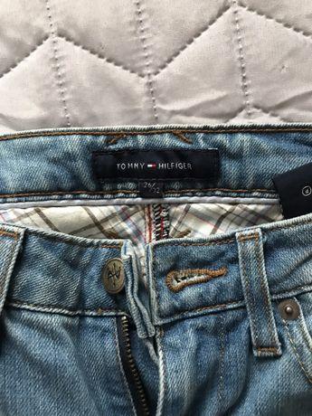 60ad917c4fdab Tommy Hilfiger jeans W26 L32 oryginał NOWE na mega szczupłą dziewczynę  Warszawa - image 1