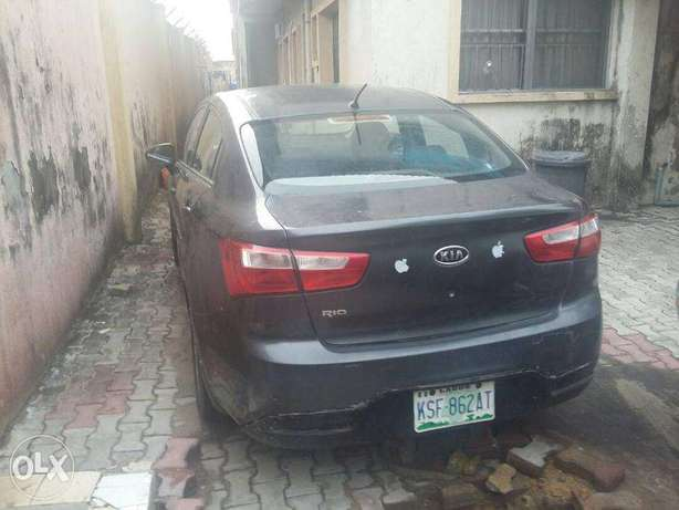 super clean kia rio 2011 model for 1.2m Lekki - image 1