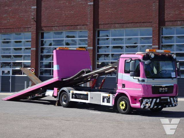 MAN TGL 12.250 Car transporter Sliding platform - 2013