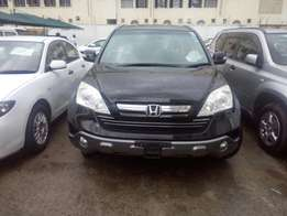 Metallic black 2.4 litre engine size Honda CRV 2wd