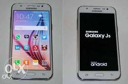 White Samsung J5 for sale