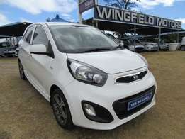 Kia Picanto 1.2 Ex with factory warranty