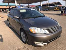 Direct Tokunbo Extremely Clean Toyota Corolla Sport