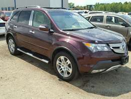 Clean tokunbo 2009 Acura MDX