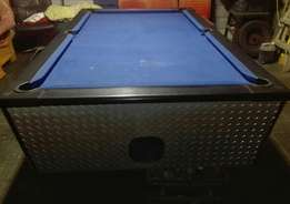 Coin operated pool table its a bargain
