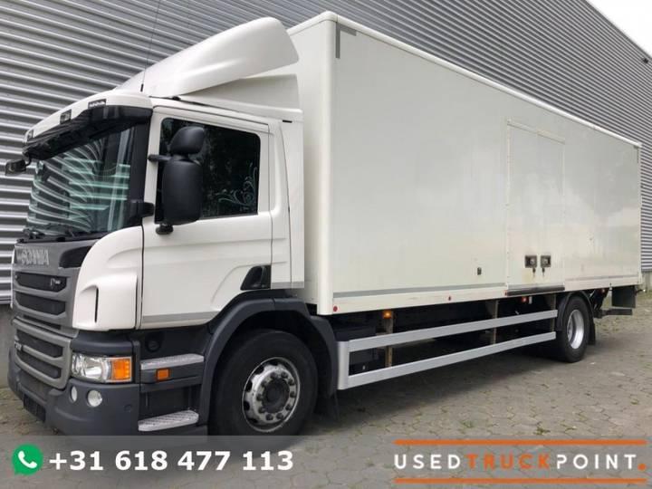 Scania P320 / Euro 6 / 299 DKM / Tail Lift / Belgium Truck - 2014
