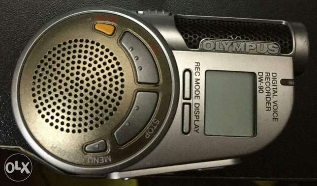 Olympus DW-90 digital voice recorder