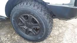 Mud terrain tyres for sale or swop for All terrain SAME size 17s