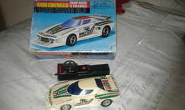 Lancia stratos. Vintage rc no steering.