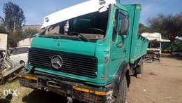 Ex Germany Mercedes Truck(Left Hand) on sale