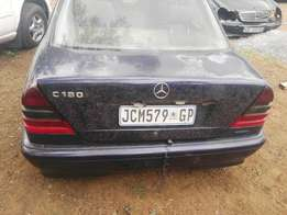 Mercedes Benz c180 stripping for spares